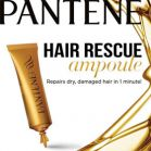 pantene hair rescue ampoules smooth & strong